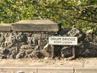 Drum Bridge road sign