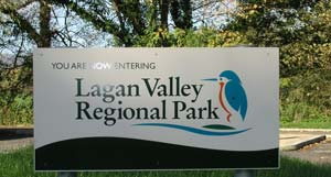 Lagan Valley Regional Park notice
