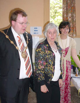 Mayor Councillor Craig and Elvira Tulip